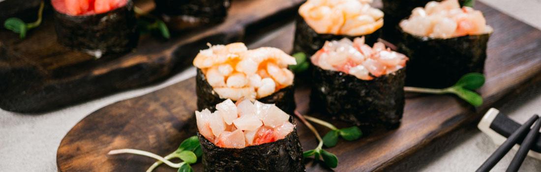 Sushi ¿te gusta? ¿conoces todas sus variedades? Acá te enseñamos!