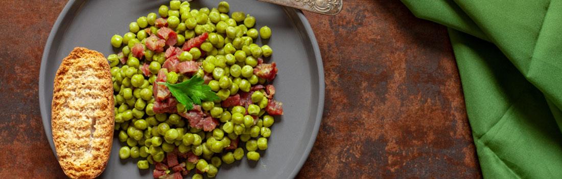 Los guisantes, legumbres con múltiples beneficios para la salud