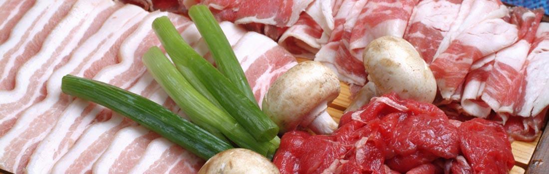 5 cortes de carne según 5 paises