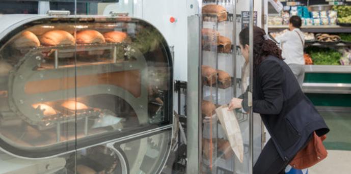 Breadbot es el robot que sustituirá a las panaderías en un futuro