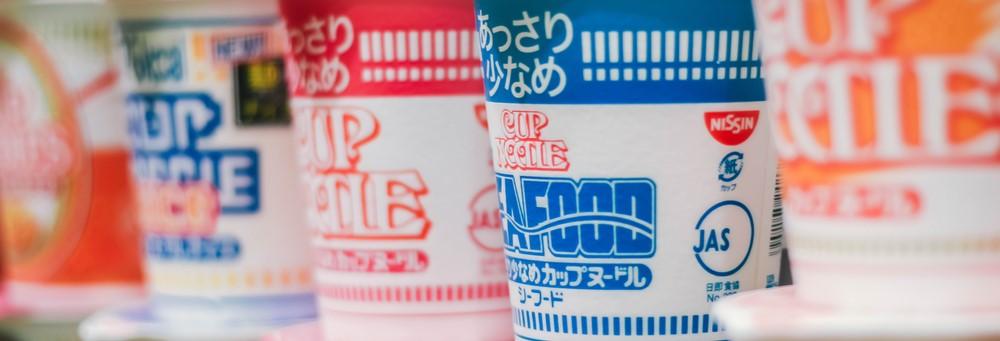 La historia de los famosos Cup Noodles